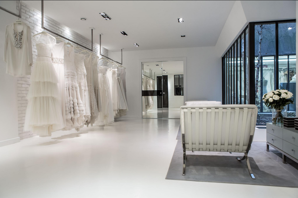 Celestina Agostino's Showroom in Paris, France