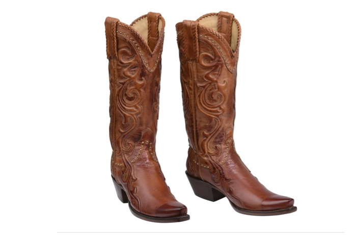 luchesse cowgirl boots - perfect for a colorado wedding!