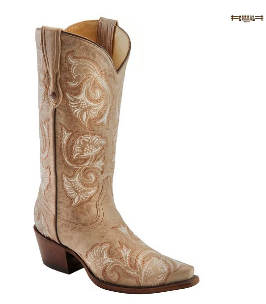 floral cowgirl boots from corral