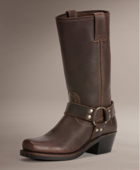frye harness boots - wedding style