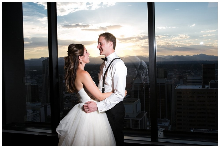 katie + andrew romantic denver wedding | modern trousseau gown from anna bé bridal boutique