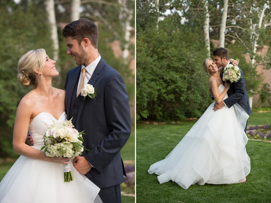real wedding: emily + nate | hayley paige londyn from anna bé bridal boutique