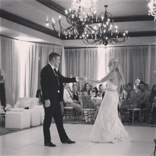 Denver Avalanche player Paul Stastny and anna bé bride Haley Fowler.