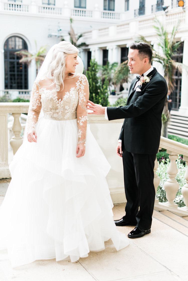 Real Wedding: Kelly + Zack | Fresh + Clean Palm Beach, FL Wedding ...
