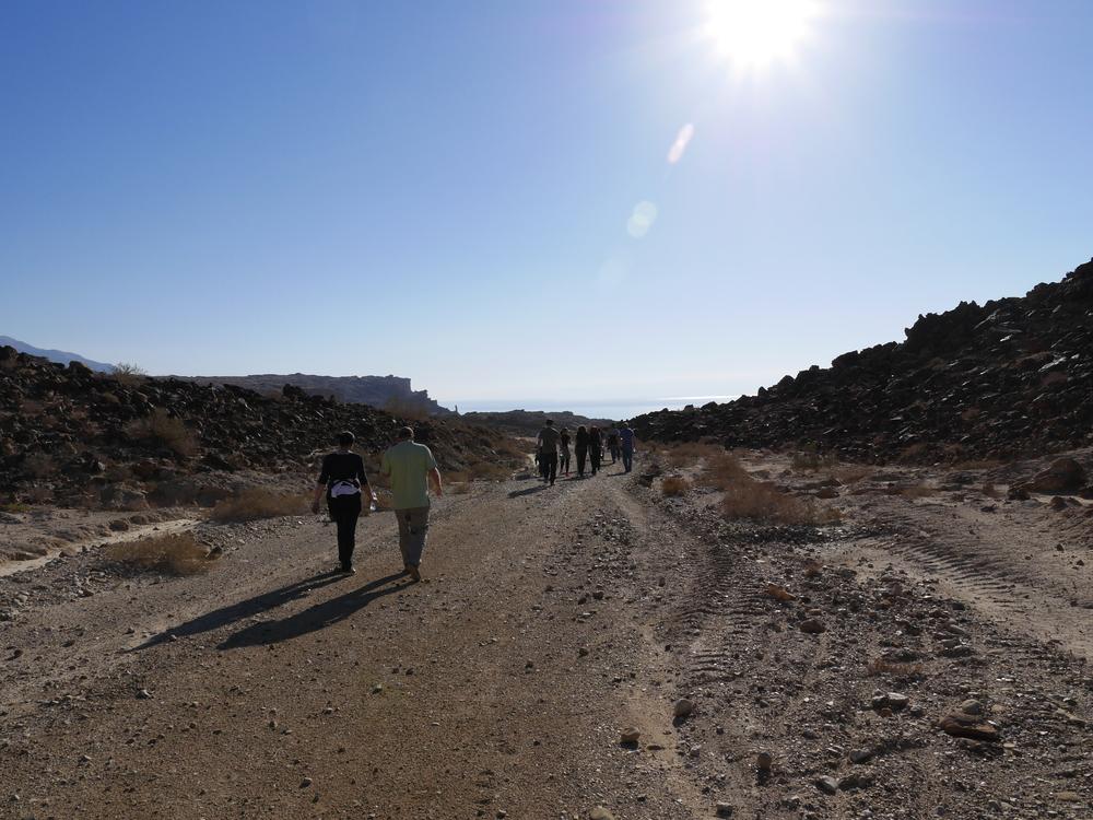 Mujib Biosphere Reserve, Jordan. February 2013
