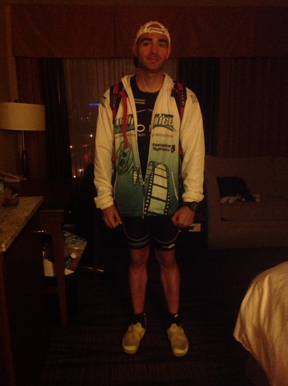 Ready to go pre race!