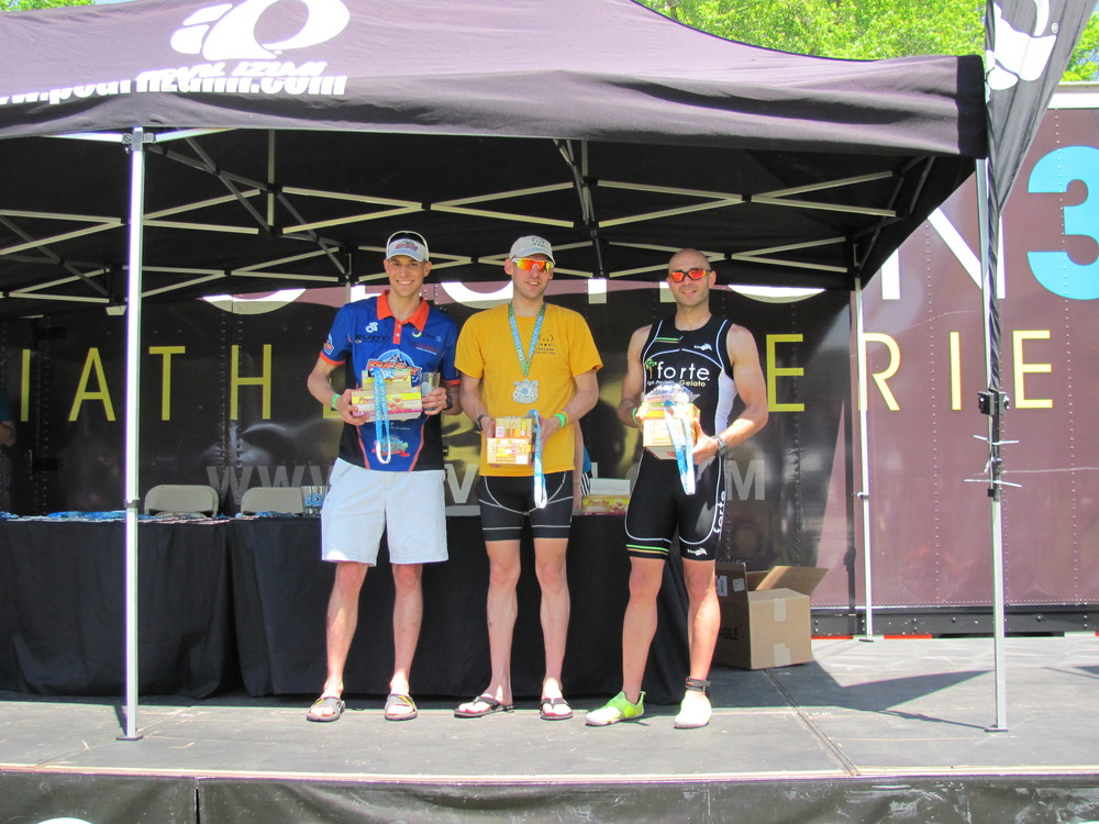 3rd Place Age Group Podium