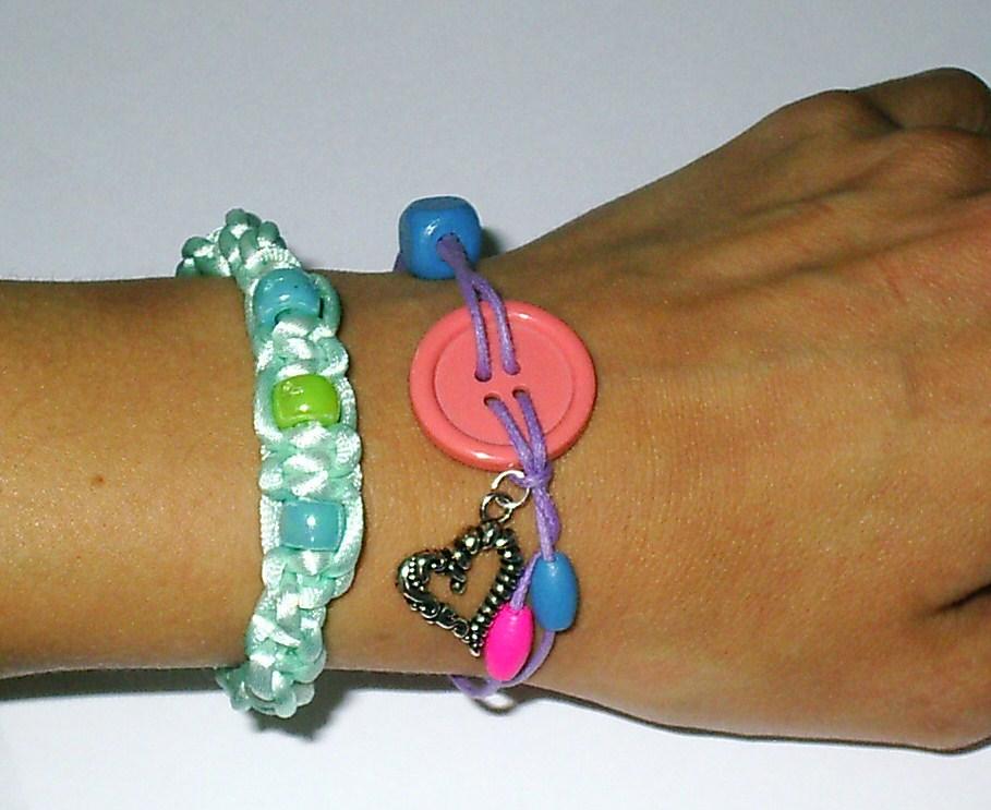 macrami, buttons & beads