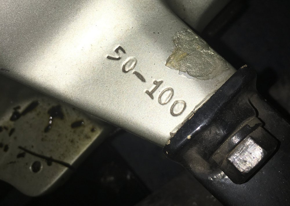 Car #139's original engine number, matching the build sheet and body number