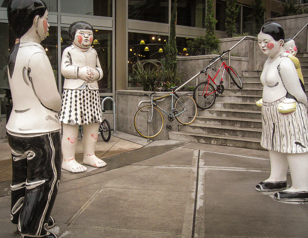 Akio Takamori, Three Women (2006), 2002 Westlake Avenue