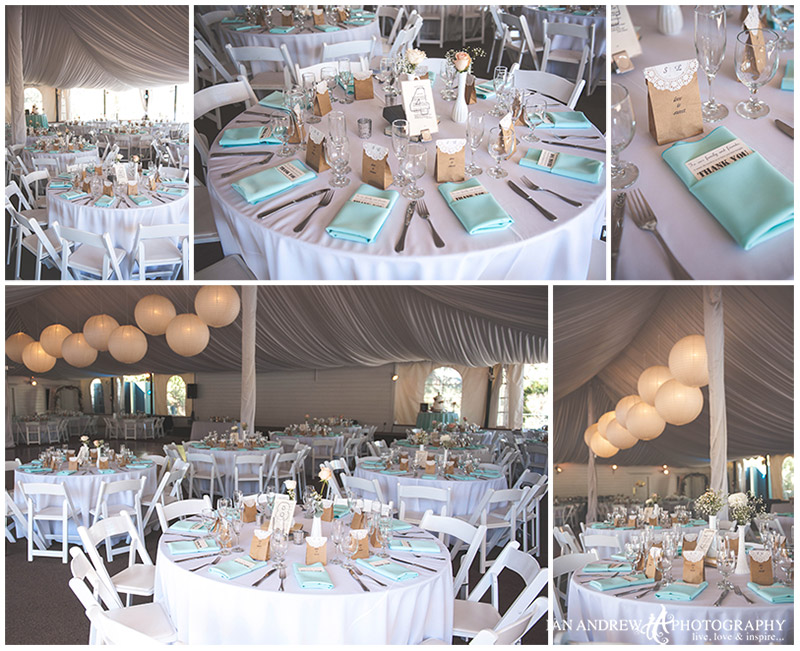 Green Gables Estate Reception Decor