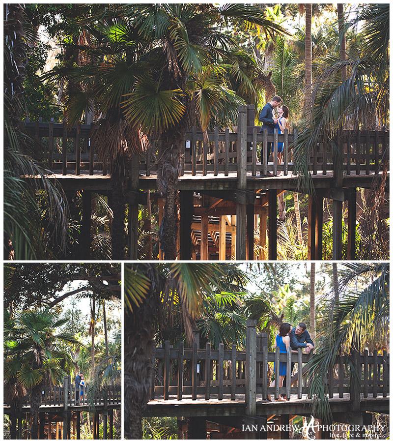 balboa park san diego engagement