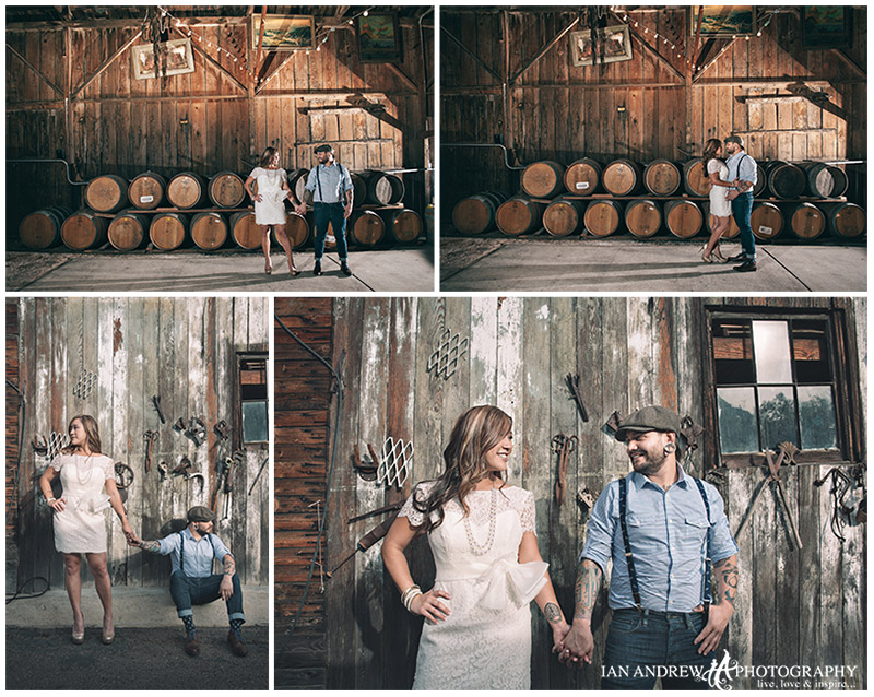 bernardo winery engagement photos