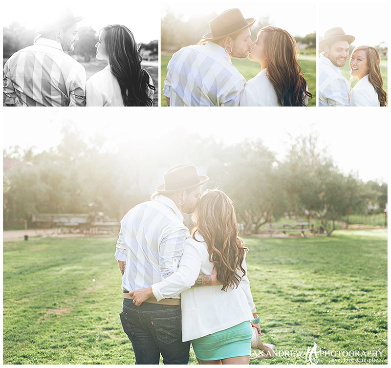 san diego bernardo winery engagement