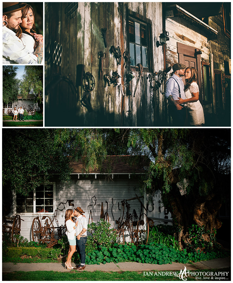 engagement photography bernardo winery