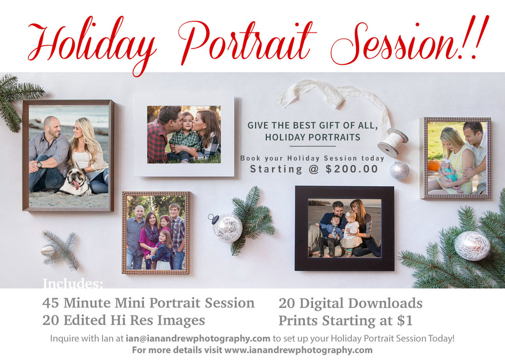 2015 Holiday Mini Portrait Session