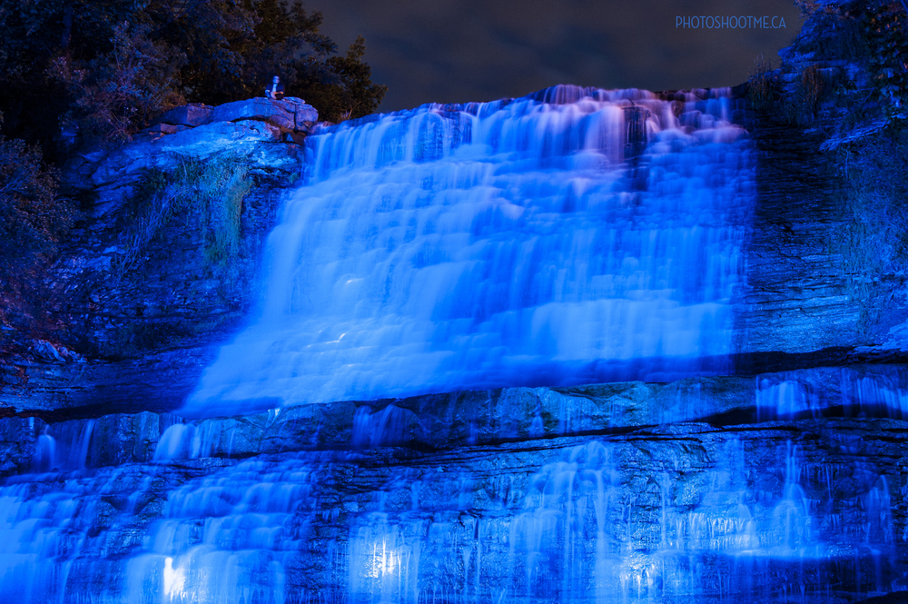 Hamilton Waterfall Illumination - Albion Falls