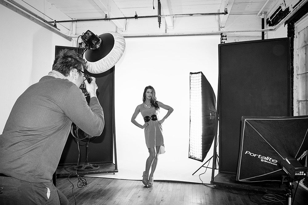 Model Portfolio: Bree Leigh Behind the Scenes