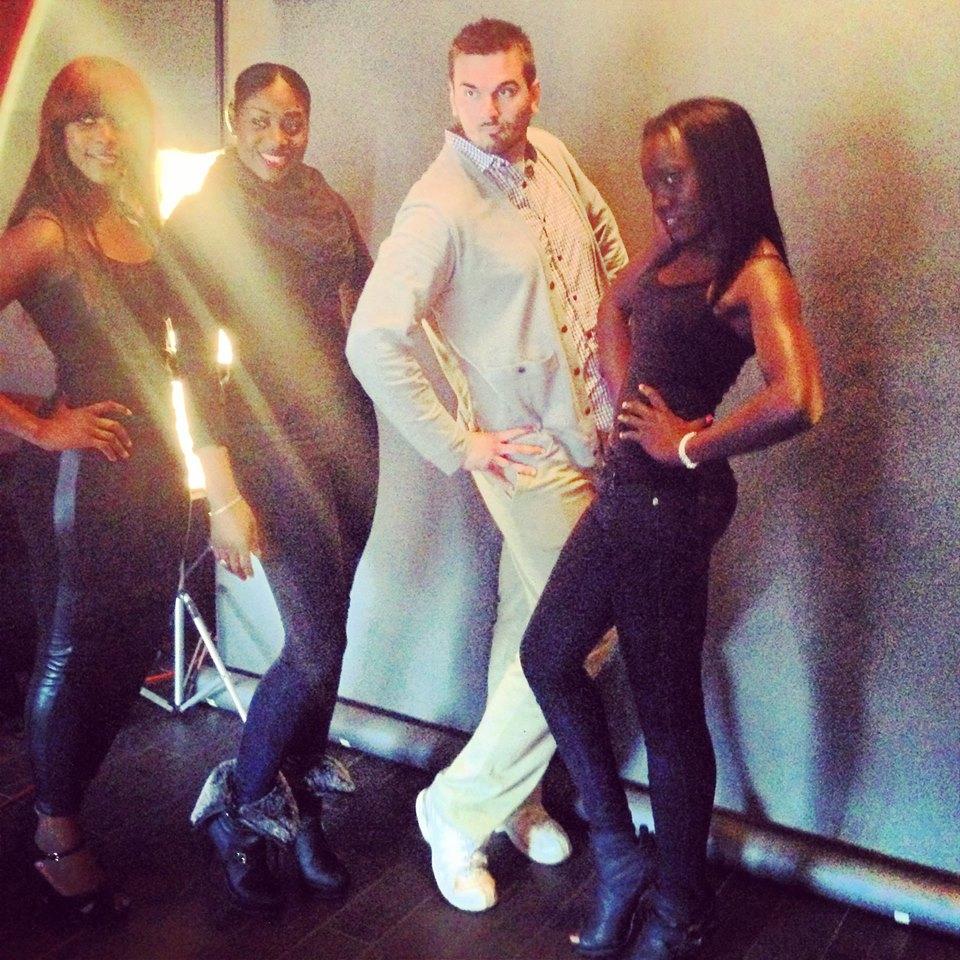 Behind the Scenes - International Canadian Fashion Showcase Casting