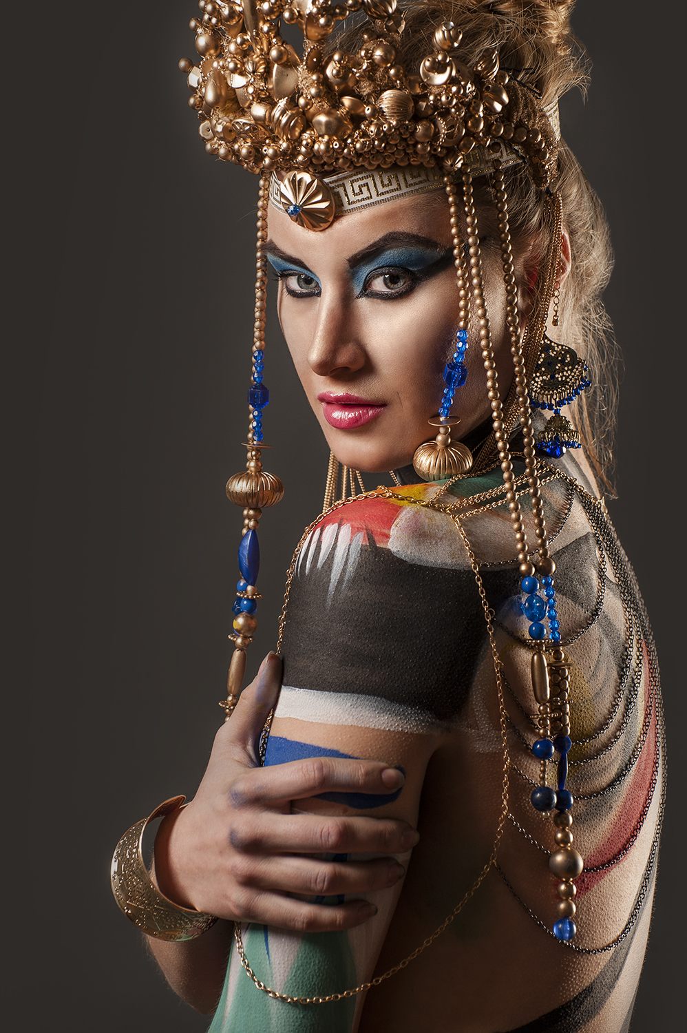 Toronto Hamilton Model Fashion Photographer - Marek Michalek - Egyptian Queen.jpg