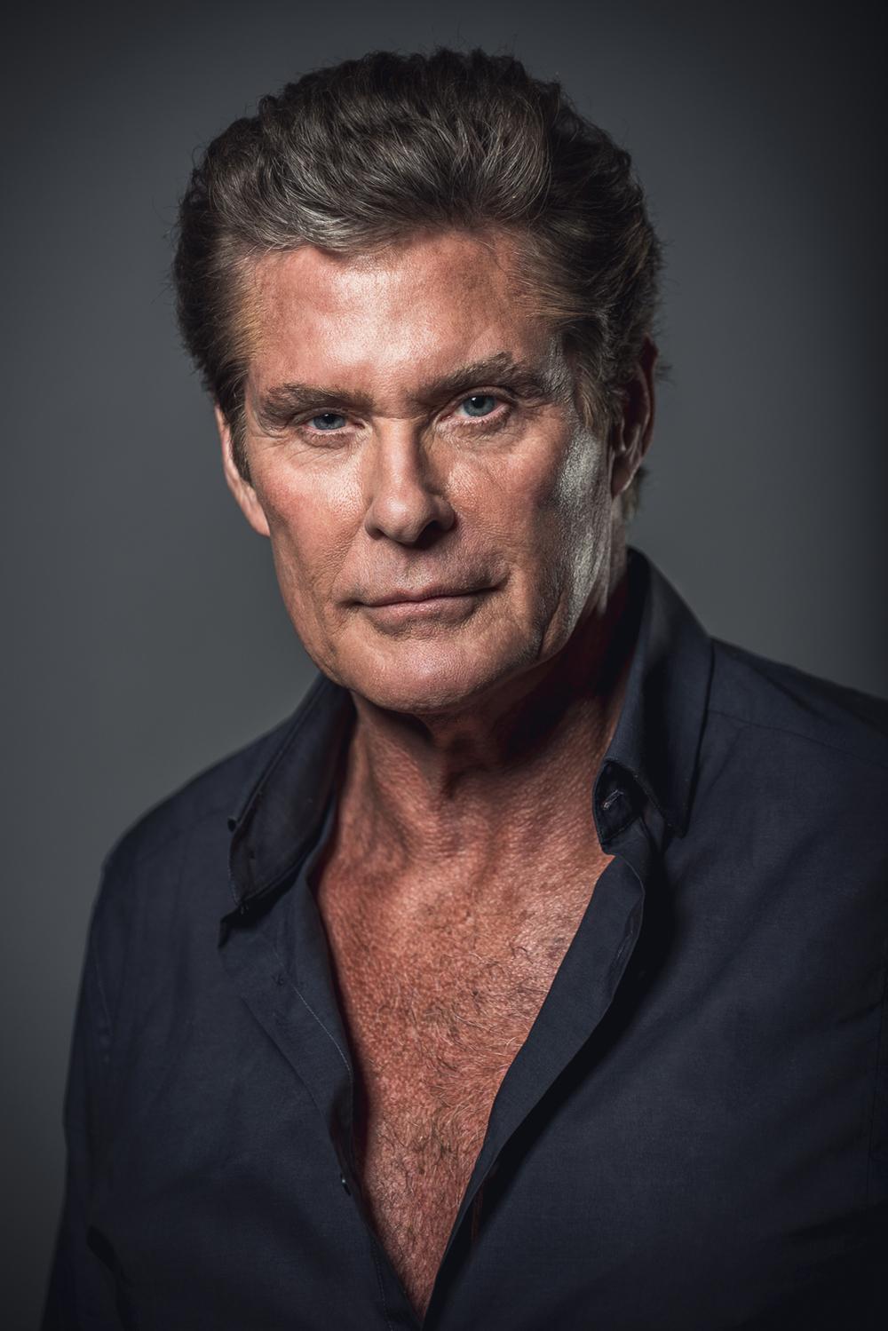 Celebrity Portrait - David Hasselhoff Headshot - Marek Michalek Photography - Hamilton Toronto Niagara Photographer.jpg
