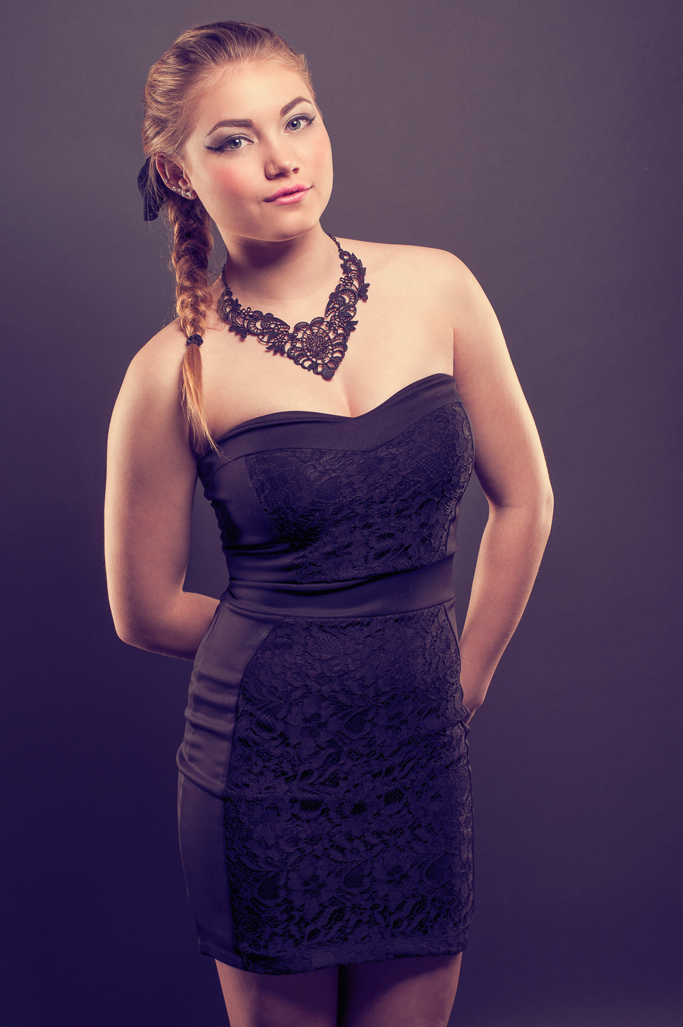 Hamilton Fashion Photographer - Little Black Dress - Photo by Marek Michalek.jpg