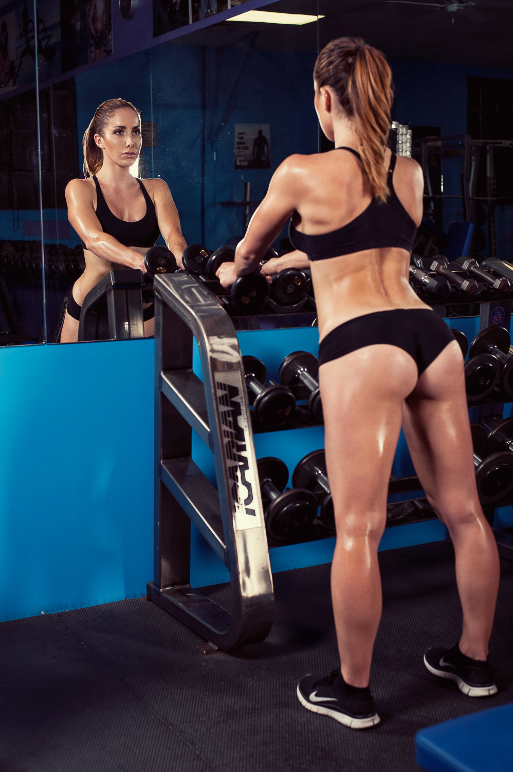Hamilton Toronto Fitness Photographer - Marek Michalek - In The Gym.jpg