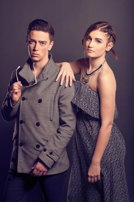 Hamilton Toronto Fashion Photographer -  Fall line Wool Coat Long Dress by Marek Michalek.jpg