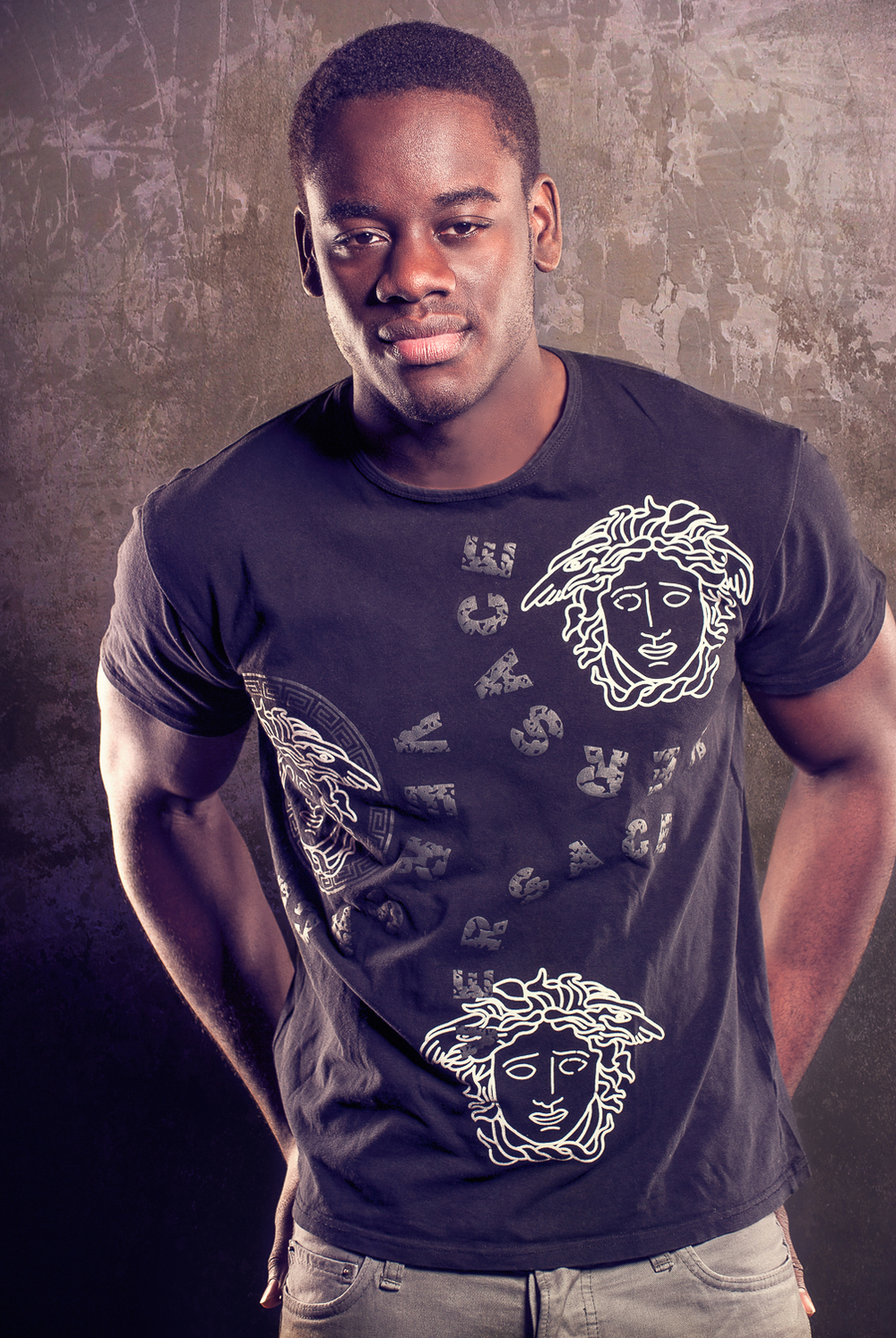 Hamilton Toronto Fashion Photographer - Male Model Graphic Tee by Marek Michalek.jpg
