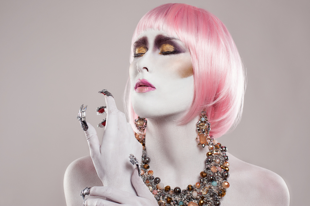 Hamilton Toronto Fashion Photographer - Pink Hair Big Nails by Marek Michalek.jpg