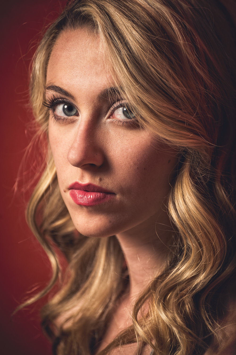 Hamilton Toronto Portrait Photographer - Female  Model Headshot by Marek Michalek.jpg