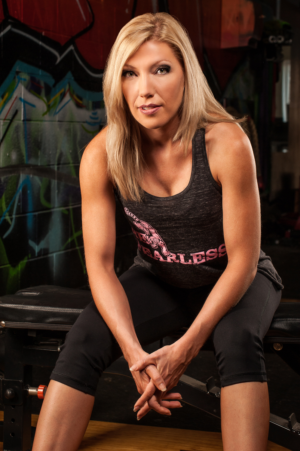 Hamilton Toronto Fitness Photographer - Metamorfose Clothing Line  Be Fearless Black by Marek Michalek.jpg