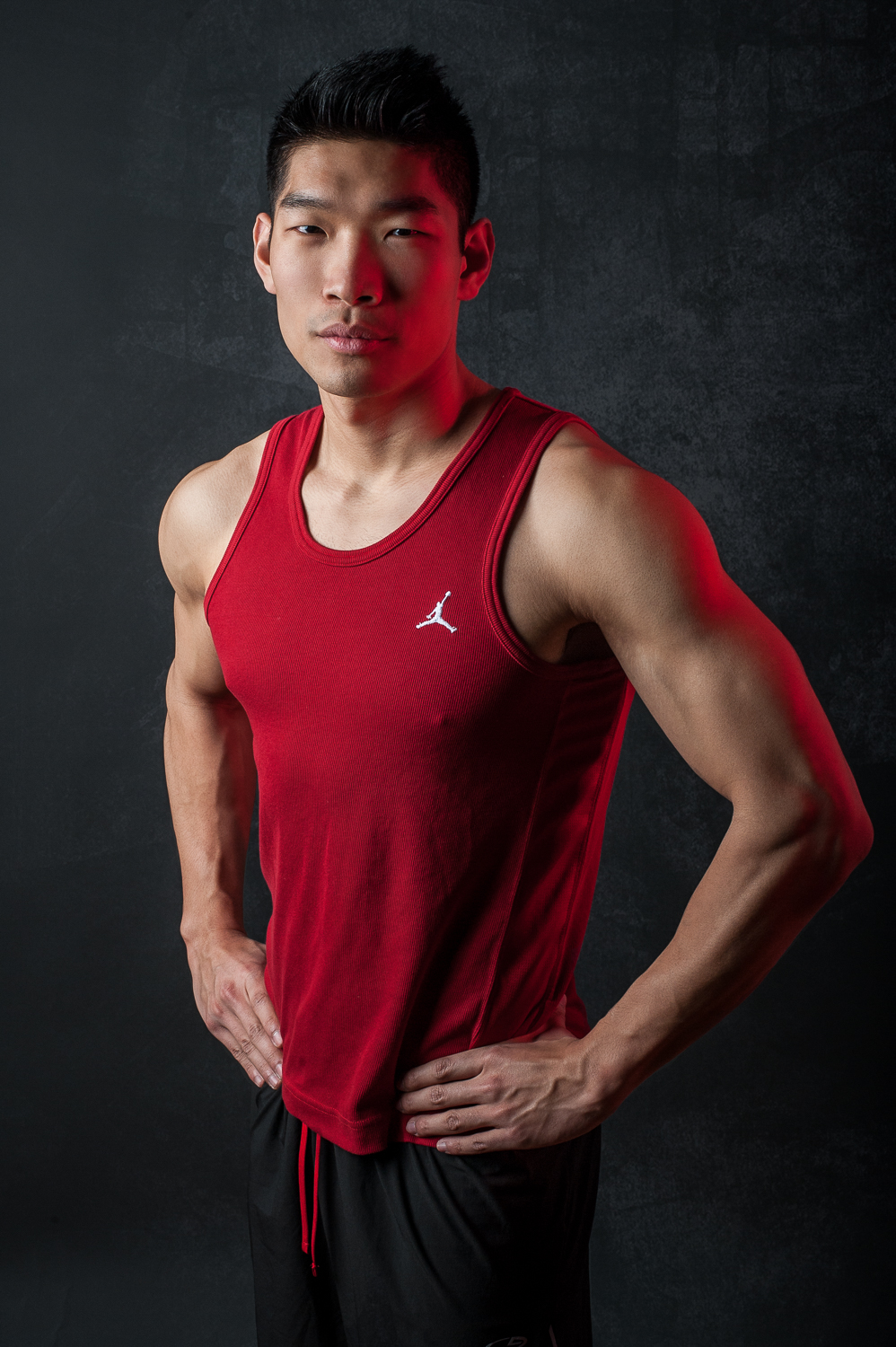 Hamilton Toronto Fitness Model Leo Chan Michael Jordan Apparel - Photographer - Marek Michalek.jpg