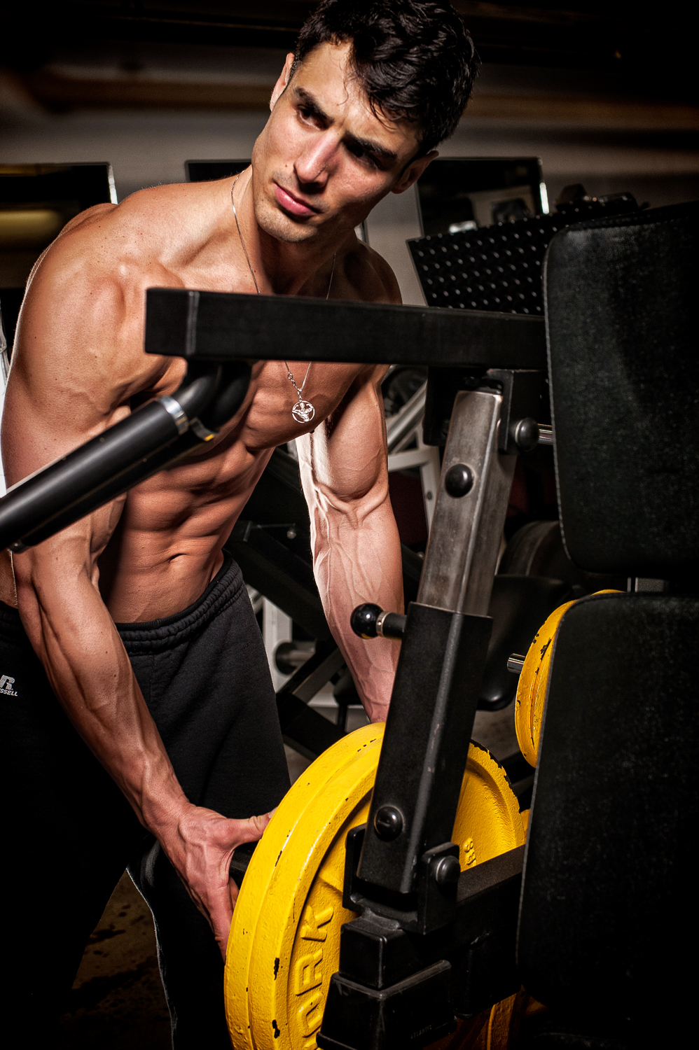 Hamilton Toronto Fitness Photographer - Marek Michalek - Rob Monroe Gym Shoot-2.jpg