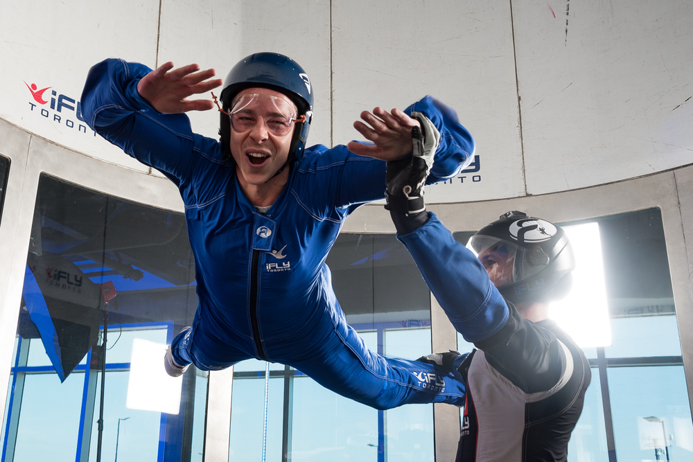 Dan Talevski Woodview Clinic iFly Toronto Fundraiser - Indoor Skydiving - Photo by Marek Michalek 17.jpg