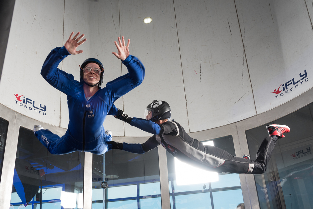 Dan Talevski Woodview Clinic iFly Toronto Fundraiser - Indoor Skydiving - Photo by Marek Michalek 19.jpg
