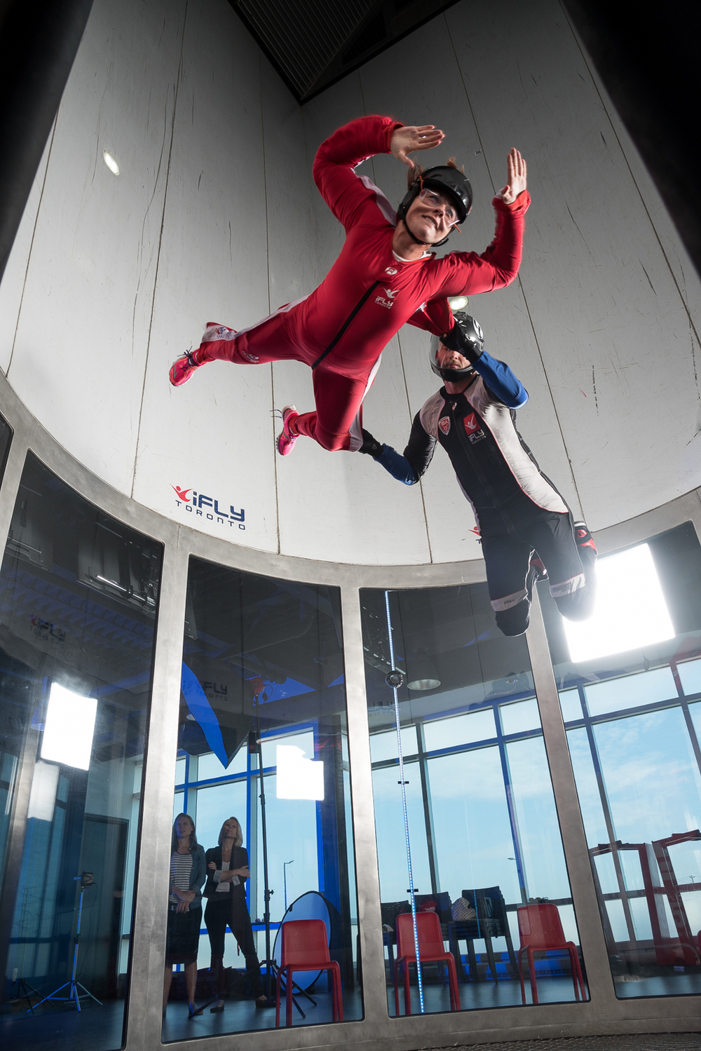 Dan Talevski Woodview Clinic iFly Toronto Fundraiser - Indoor Skydiving - Photo by Marek Michalek 20.jpg