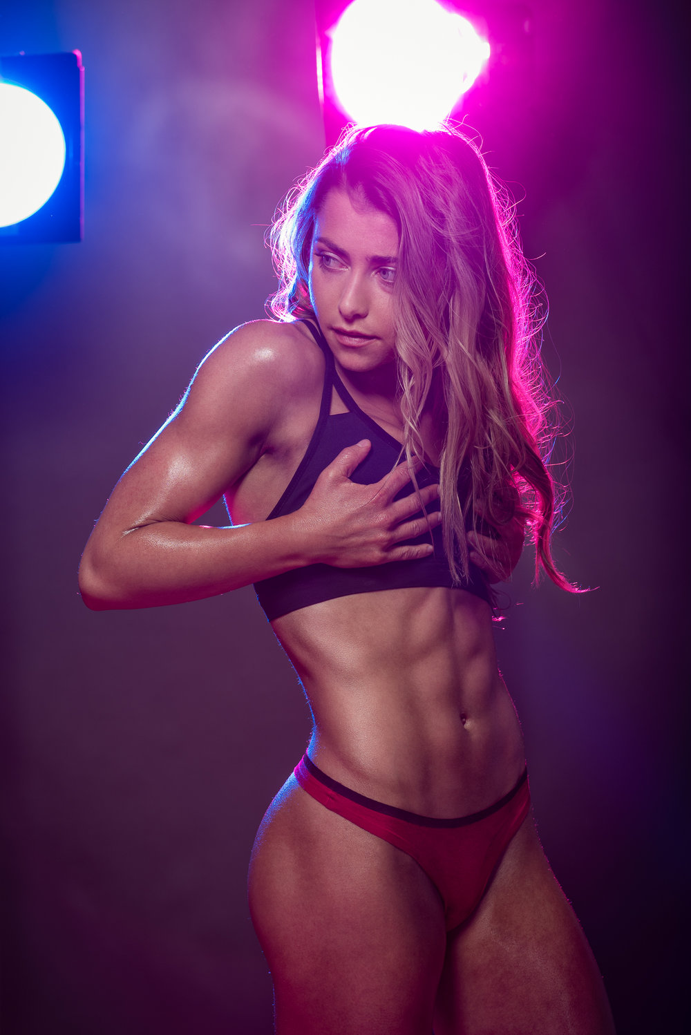 Hamilton Fitness Photographer - Studio Photoshoot abs 001.JPG
