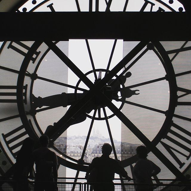 Musee d'Orsay Clock Window. 2005 #Paris #france🇫🇷