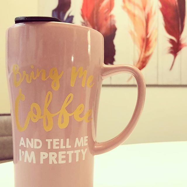 I don't ask for much. :) #bringmecoffee #tellmeimpretty #coffee #coffeemug