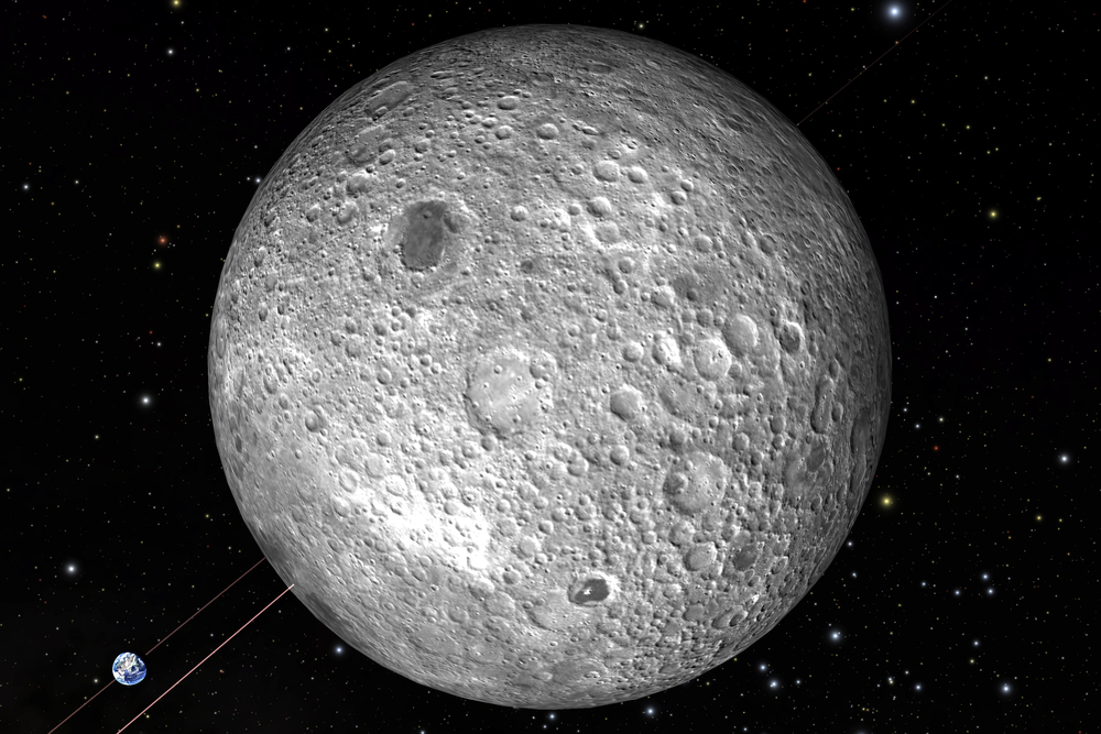The Moon from  Welcome to the Universe.