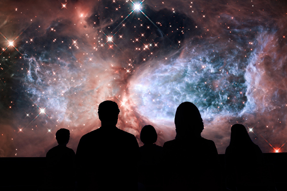 Welcome to the Universe , the next adventure departing from the Grainger Sky Theater.
