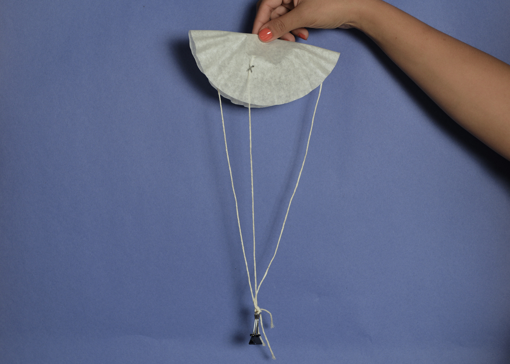 Step 6 of 6: Test your parachute