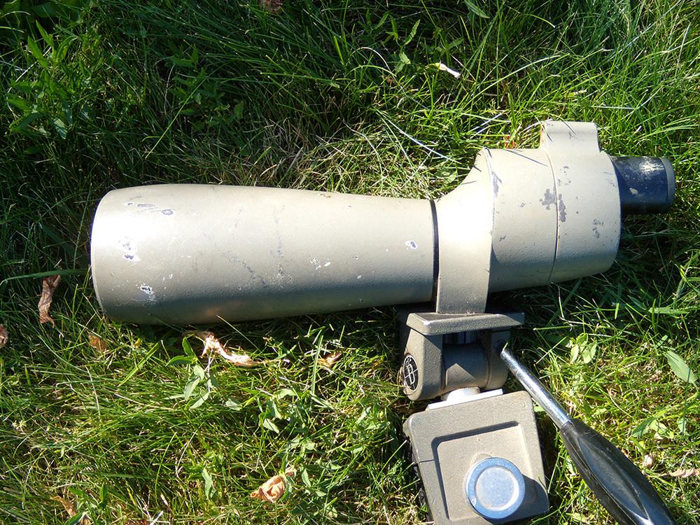 A Bushnell spotting scope.