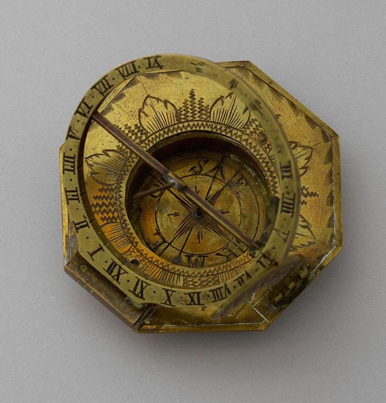 Johannn Nepomuk Schrettegger, Augsburg-type sundial