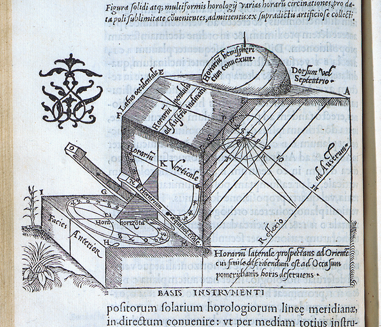 Oronce Fine, De solaribus horologiis