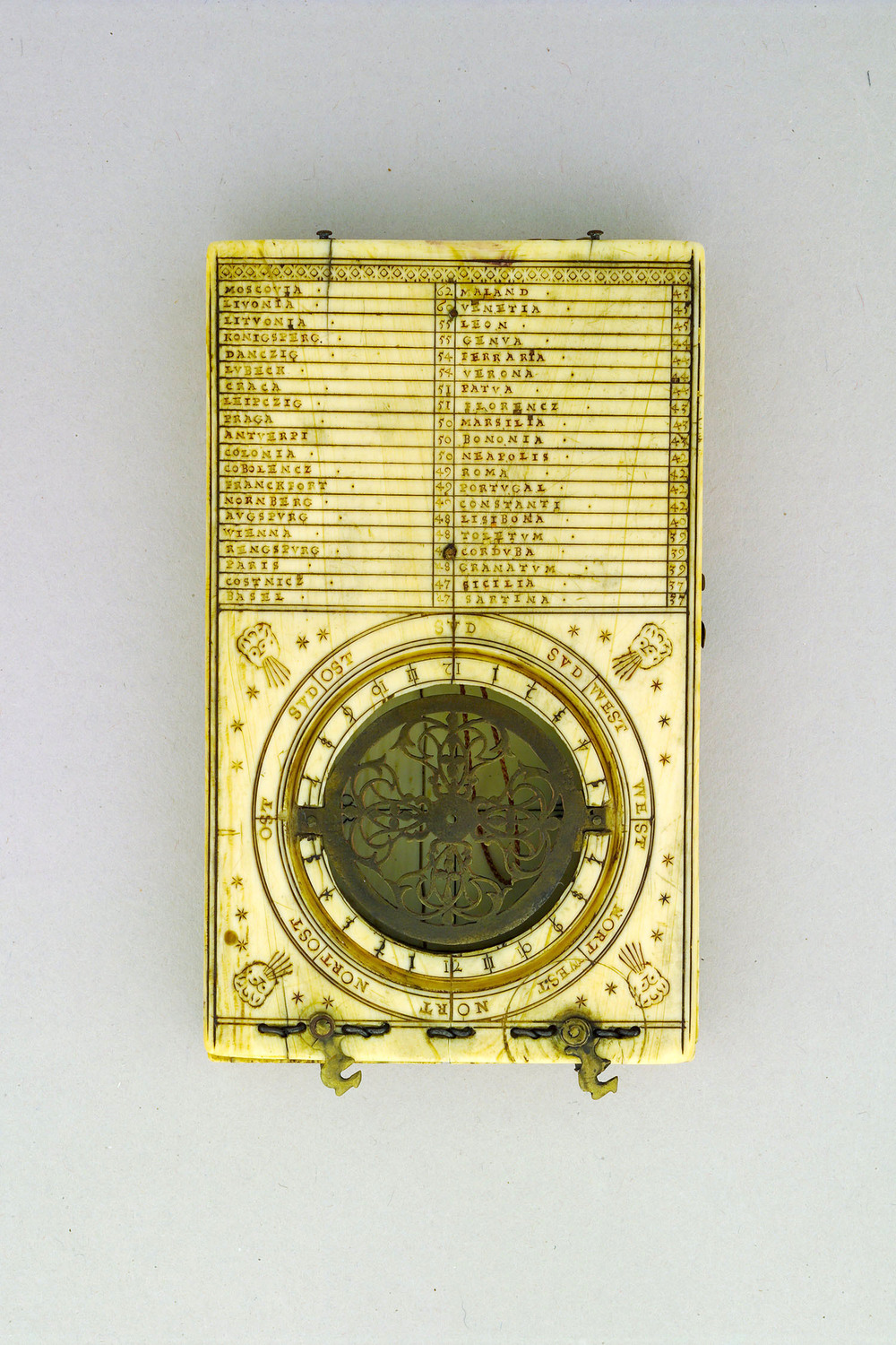 Image 1: Paul Reinmann, Diptych sundial. Nuremberg, Germany, 1595 (Adler Collection, DPW-27).