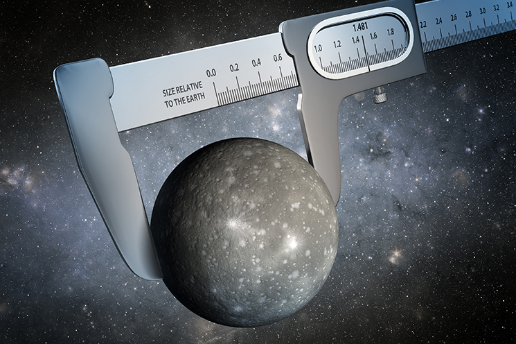 Using data from NASA's Kepler and Spitzer Space Telescopes, scientists have made the most precise measurement ever of the size of a world outside our solar system, as illustrated in this artist's conception. Image Credit:NASA/JPL-Caltech