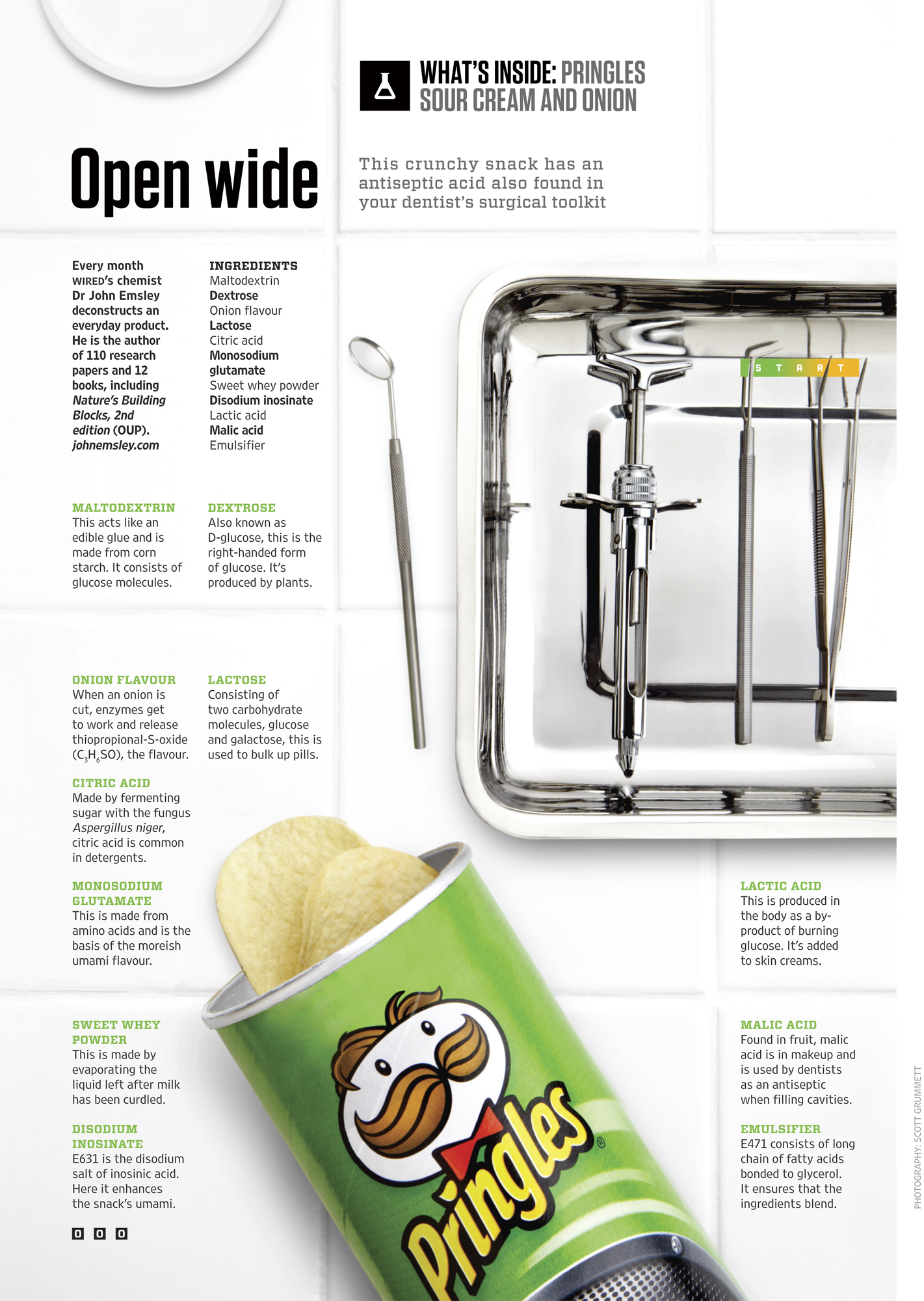Wired: What\'s Inside Pringles — Scott Grummett: Food Photographer ...
