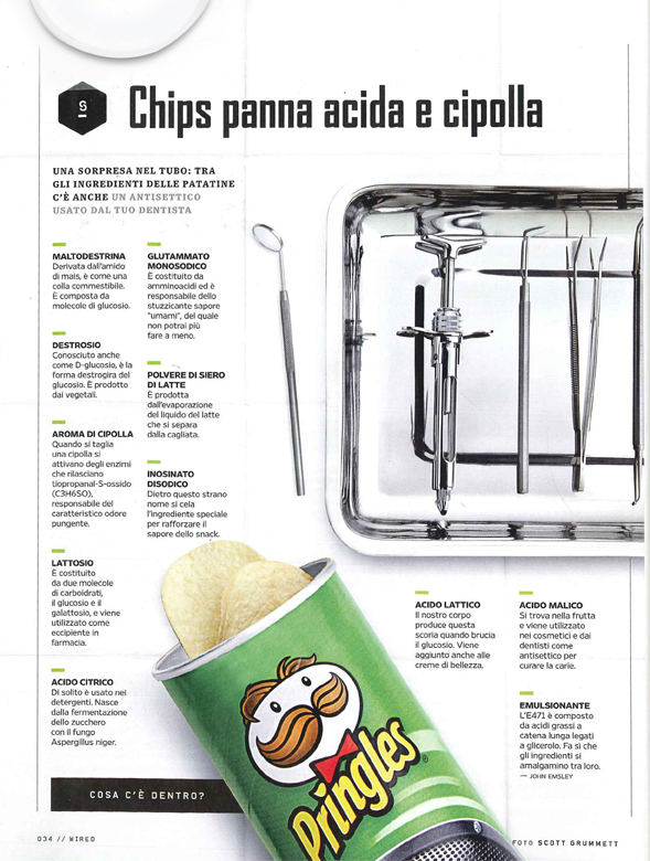 Whats Inside Pringles: Italy.